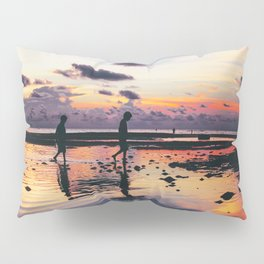 Maldivian sunset 2 Pillow Sham
