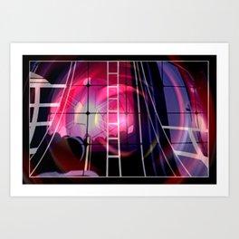 Lichträumlichkeiten.  Art Print