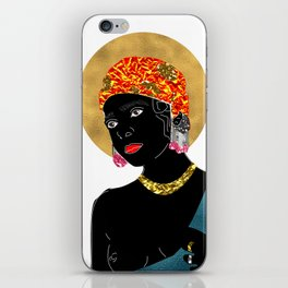 Mary in White iPhone Skin