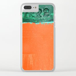 Buoy #7222 Clear iPhone Case