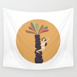 Stare at the sun Wall Tapestry