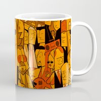 hats Mugs featuring The Big Lebowski by Ale Giorgini