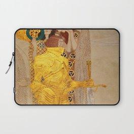 The Golden Knight - Gustav Klimt Laptop Sleeve
