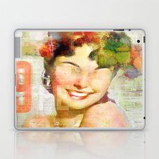 The girl of the 9th floor Laptop & iPad Skin