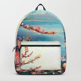 Magnolias - Geneva-Leman lake swiss Backpack