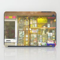 record iPad Cases featuring Record Store by Cassia Beck