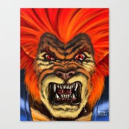 The Thunder Strikes! Canvas Print