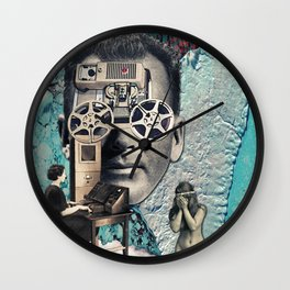 Person of Interest Wall Clock