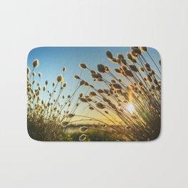 Cotton grass from the high moorland Bath Mat