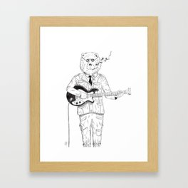 Smokey Bear Framed Art Print