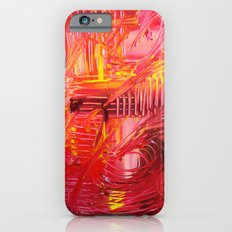 THE TANGO - BOLD Bright and Beautiful, Modern Abstract Painting Dance Home Decor Red Yellow iPhone 6s Slim Case