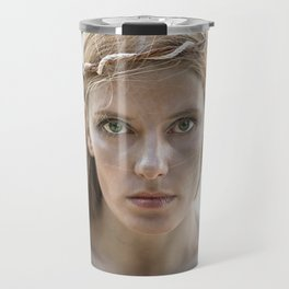 Portrait of a Mermaid Travel Mug