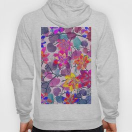 Floral abstract 96 Hoody