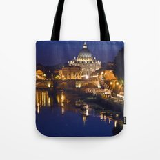 St. Peter's Church in Rome Tote Bag