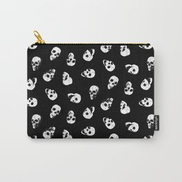 Gossiping Skulls Carry-All Pouch