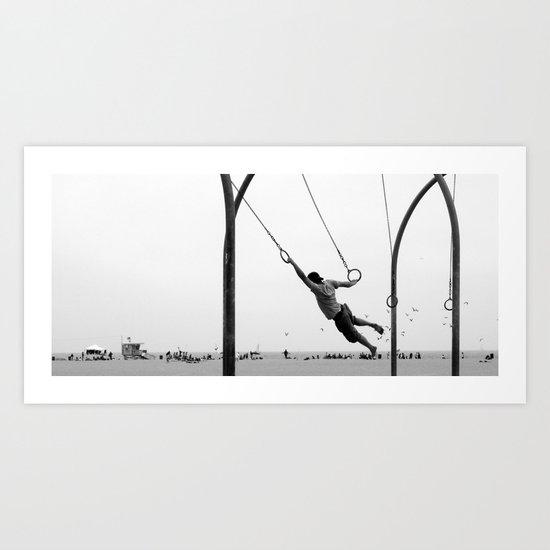 almost flying Art Print
