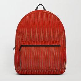 Red stripes Backpack