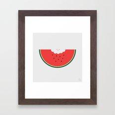 Water Melon Framed Art Print