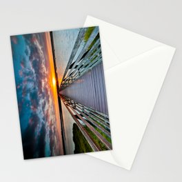 Bolsa Chica Wetlands Sunrise  6/18/14 Stationery Cards