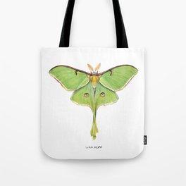 Luna Moth (Actias luna) II Tote Bag