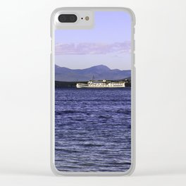 MS Mount Washington Clear iPhone Case