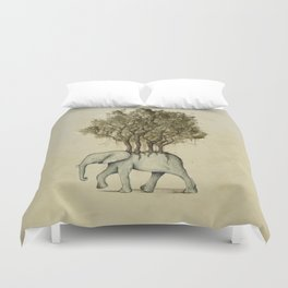 Carrying the Νature Duvet Cover