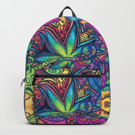 Trippy Weed Backpack
