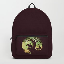 The jungle says hello Backpack