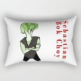 Sebastian Bok Choy Rectangular Pillow