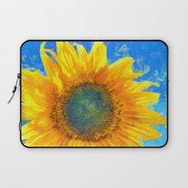 Happy Sunflower Laptop Sleeve