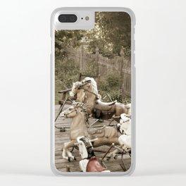 The Herd 1 jjhelene Clear iPhone Case