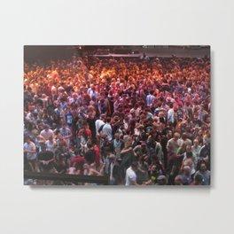 Crowds Metal Print