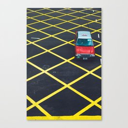 HK Taxi Canvas Print