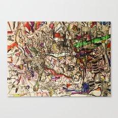 Foolish Nightmares & Dreams Canvas Print