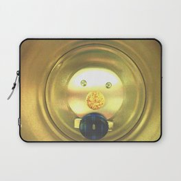 Tea jar smile. Laptop Sleeve