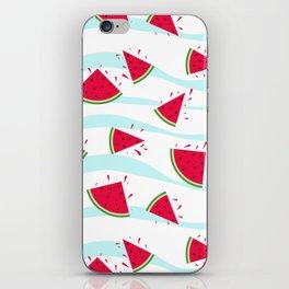 Watermelon pattern . Retro . iPhone Skin