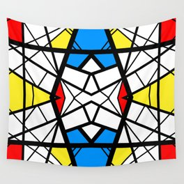 Shattered - geometric graphic design Wall Tapestry