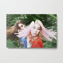 Wind Twined Metal Print