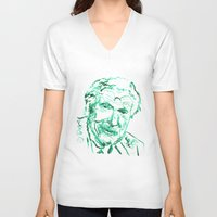psychology V-neck T-shirts featuring Carl Jung by echoes