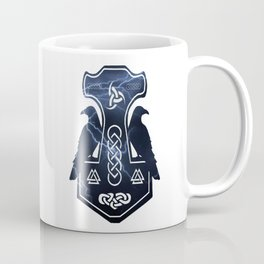 Lightning Thor's Hammer Coffee Mug
