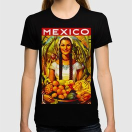 Vintage Bountiful Mexico Travel T-shirt