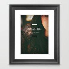Now, isn't that pleasant?  Framed Art Print