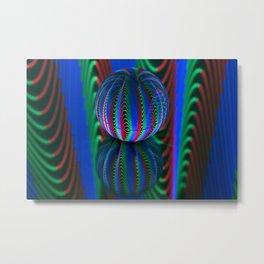 Segments in the crystal ball Metal Print