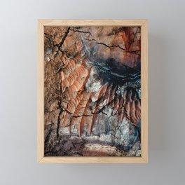 Chocolate Dunes Framed Mini Art Print