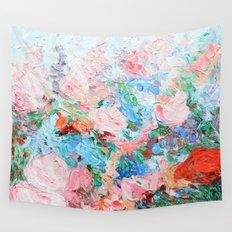 La Vie en Rose Wall Tapestry