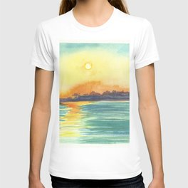 Cresent Bay Sunset T-shirt