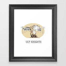 UCF Print Framed Art Print