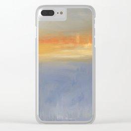FiRE iSLAND Clear iPhone Case