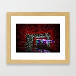 Tunneled Light Framed Art Print