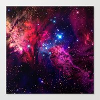 galaxy Canvas Prints featuring Galaxy! by Matt Borchert